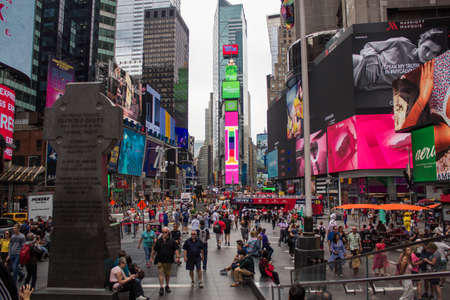 morning at Times square in New York Sajtókép