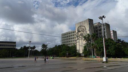 square of the revolution in havana