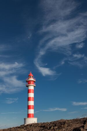 sardine lighthouse in Gran Canarias with clouds