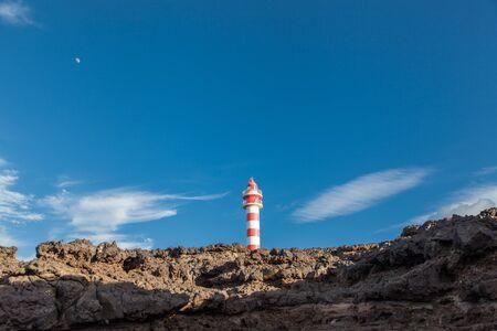 sardine lighthouse in Gran Canarias Stok Fotoğraf