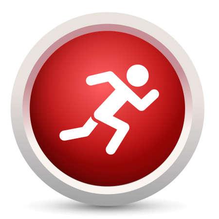 sprint: sprint icon Illustration