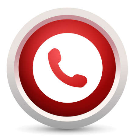 call button: phone call button Illustration