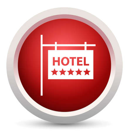 five star: Five star hotel icon Illustration