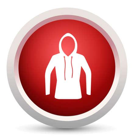 zip hoodie: hoodie icon
