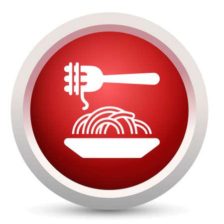 vermicelli: vermicelli icon Illustration