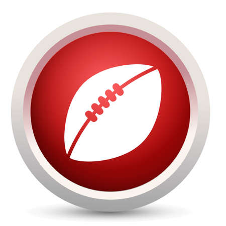 touchdown: american foot ball icon Illustration