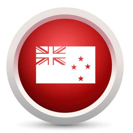 new zealand flag: new zealand Flag  icon