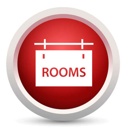 quiet room: room signboard icon Illustration