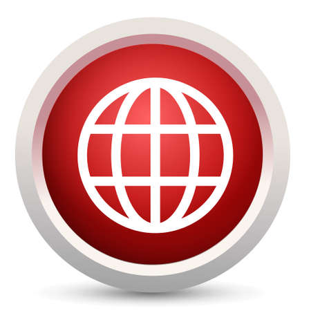 geography: earth geography icon