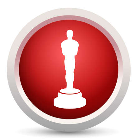statuette: oscar award icon