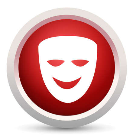 comedy mask: comedy mask