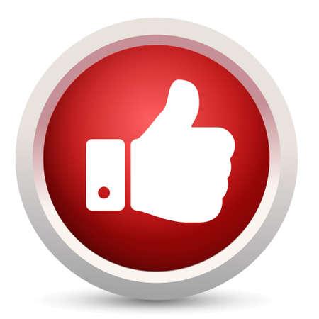 thumbs up icon Ilustração