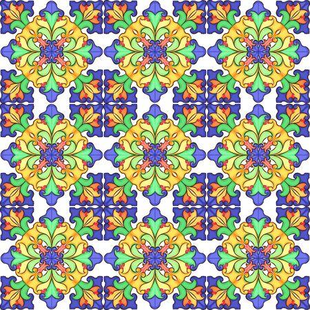kaleidoscop: Vector abstract kaleidoscop pattern