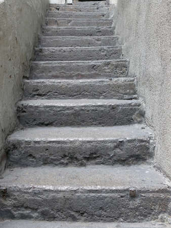 stone stairs: Old stone stairs