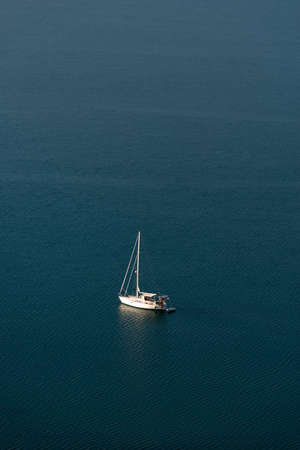 dinghies: Sailboat Stock Photo