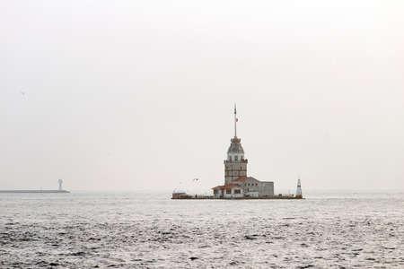 maiden: Maiden Tower in istanbul Stock Photo