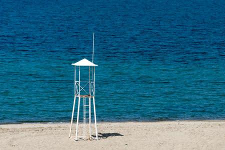 lifeguard: Lifeguard tower