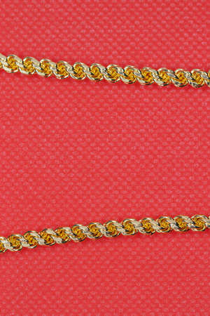 Crystal Gold Plated Traditional Design round Fancy Long Chain for Women and Girls, chain design
