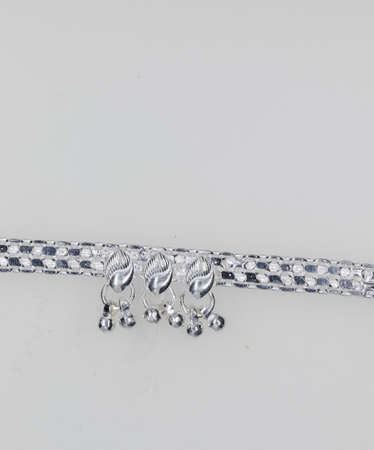 Plan Designed Silver Anklet Jewelry for girls and woman , anklet jewelery