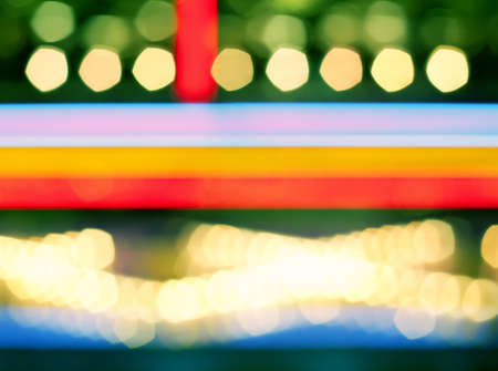 Abstract multi-colored bokeh, kind of a background photo