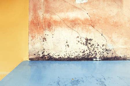 Aged textured street wall background  Standard-Bild