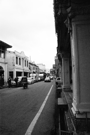 Street view at Malacca Town