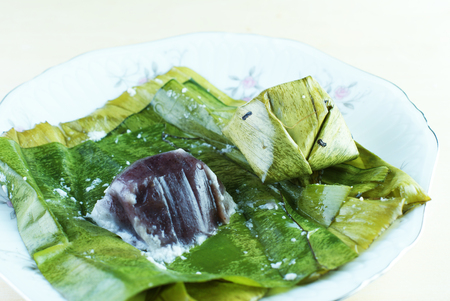 steam mouth: Malay traditional food - Kuih Koci or Kochi or Passover Cake