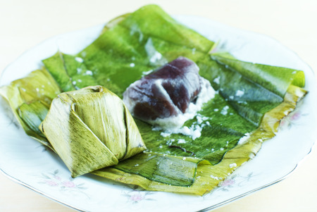 Malay traditional food - Kuih Koci or Kochi or Passover Cake photo