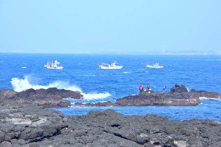 southernmost: Marado or Mara Island is an island 8 km off the south coast of Jeju, in southernmost South Korea