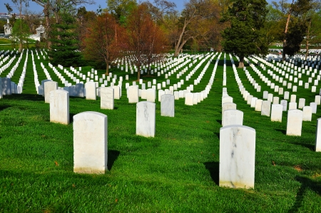 military cemetery: Arlington National Cemetery, Washington DC, USA