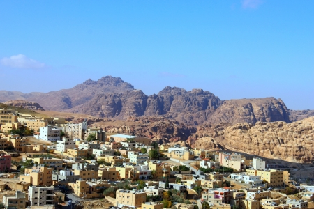 musa: Wadi Musa, small town around Petra  Petra is one of the new Seven Wonders of the World
