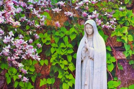 catholic chapel: Statue of Virgin Mary