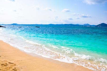 Pure sea in Udo island, South Korea  Udo is a small island closes to Jeju Island, South Korea Stock Photo - 19720098