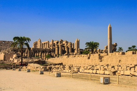 nile river: Karnak Temple, Luxor, Egypt  Karnak is an ancient Egyptian temple precinct located on the east bank of the Nile River in Luxor city