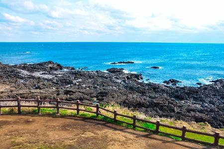 south island: Coastline in Udo island, Korea