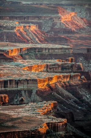 basin mountain: Island in the Sky,  Canyonlands National Park, Utah, USA