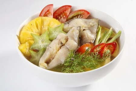 seafood soup: Sour Fish Soup, Vietnamese cuisine