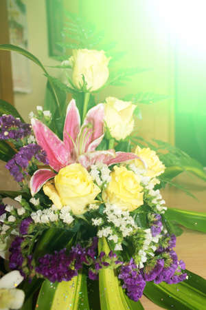 Summer flower background  photo