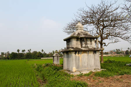 feudal: ancient tomb of a wealthy woman in feudal times, vietnam