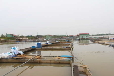 farm in river
