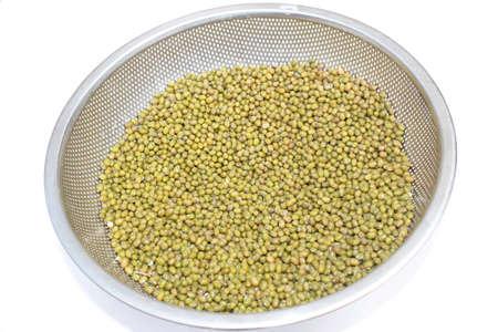 Mung beans in basket