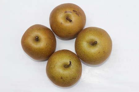 pear on white background Stockfoto
