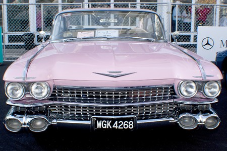 KUALA LUMPUR, MALAYSIA - MARCH 27 : A Cadillac on display during the 8th KL Vintage and Classic Car Concourse at Petronas Pit Pulse KLCC March 27, 2010 in Kuala Lumpur, Malaysia.