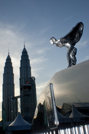 KUALA LUMPUR, MALAYSIA - MARCH 27 : Vintage and classic automobile enthusiasts were treated with an atmosphere of sheer exuberance during the 8th KL Vintage and Classic Car Concourse at Petronas Pit Pulse KLCC March 27, 2010 in Kuala Lumpur, Malaysia.