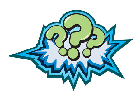 Question Symbol Button Illustration Vector