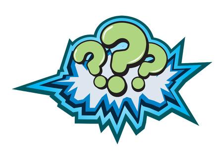 Question Symbol Button Illustration Stock Vector - 7479964