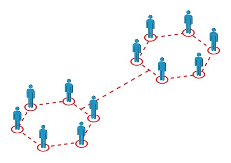 Global Male Distribution Illustration