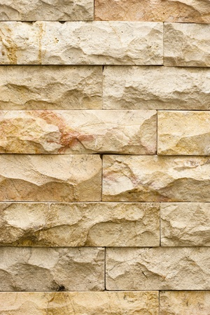 Close up of a Brick-Wall Used as a Texture Background