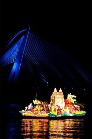 PUTRAJAYA, MALAYSIA - JULY 13 : :Beautiful Floria Floats from Tourism Malaysia at the Putrajaya Floria Festival on July 13, 2011 in Putrajaya, Malaysia. Estimated 800,000 people visit this year event.