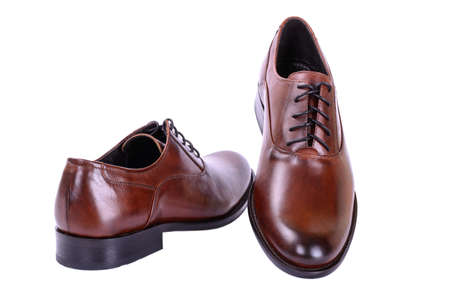 business style: Brown shoes for men business style